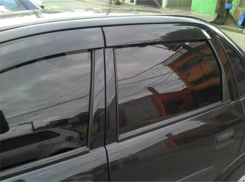 calha defletor chuva corsa sedan classic design esportivo