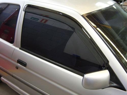 calha defletor chuva escort europeu 2 portas 93/96 adaptável