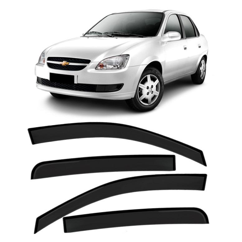 Calha Defletor Chuva Gm Corsa Sedan Hatch 4 Portas R 120 99 Em