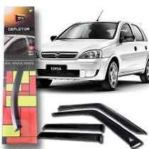 calha defletor chuva tg poli corsa hatch sedan classic 2010