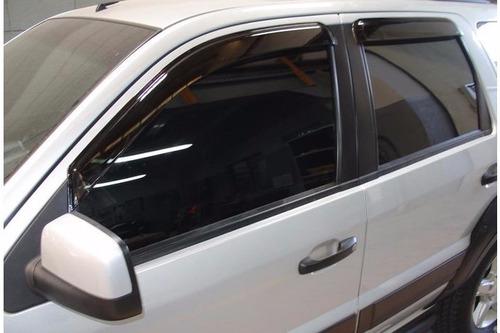 calha defletor de chuva ford ecosport 03/11 tgpoli original