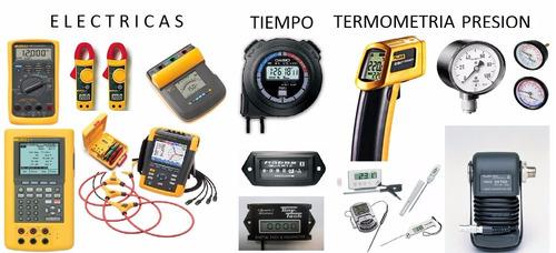 calibración certificación de instrumentos de medición