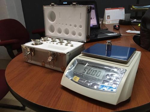 calibración de balanzas digitales y balanzas médicas