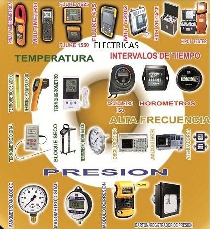 calibración de equipos