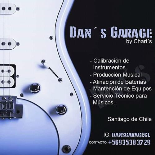 calibración de guitarra y bajo. servicio técnico.