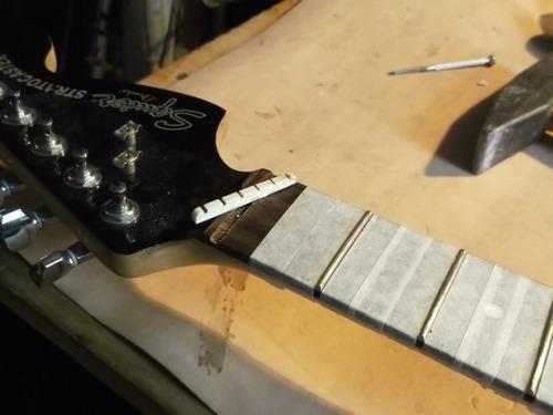 calibracion de guitarras y bajos por luthier zona all boys