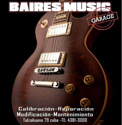 calibración guitarra bajo luthier local a la calle