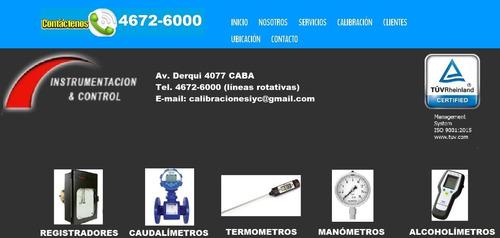 calibracion, venta y reparacion de instrumentos de medicion