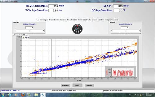 calibración y puesta a punto gnc 5ta generación