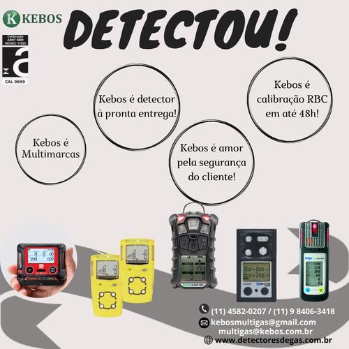 calibração detectores de gás - kebos