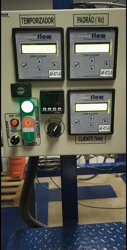 calibração em medidores de vazão rastreável e rbc