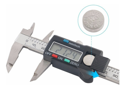 calibrador de acero electrónico lcd