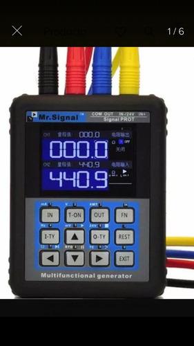 calibrador de procesos 4-20 ma/ 0-10 vcd entrada/salida