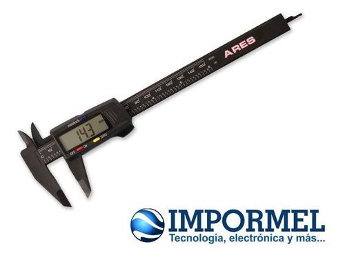calibrador digital pie de rey vernier milimetros pulgadas