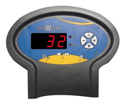 calibrador eletrônico de pneus 5 á 145 psi bivolt schweers
