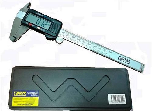 calibrador pie de rey digital 6 pulg bp