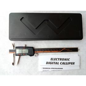 Calibrador Pie De Rey Digital 6 Pulgadas . Mm-puLG-fracción
