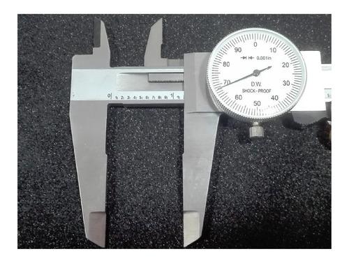calibrador pie de rey reloj de 12 pulg resolucion 0.001 pulg