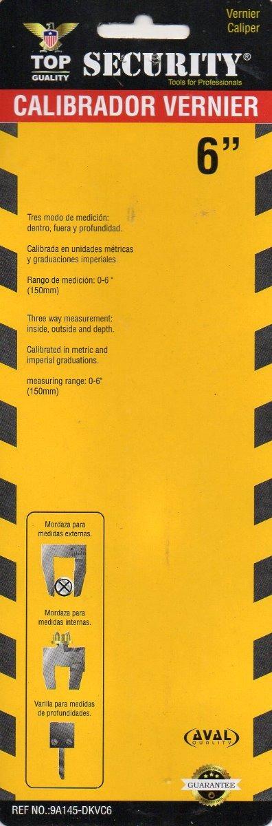 Calibrador Pie De Rey Vernier 1 128 X 6 Pulgadas 23 900 En Mercado Libre