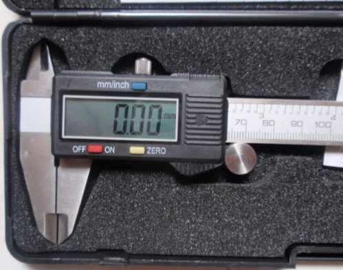 calibrador p/rey digital de 6 pulgadas x  0.0005