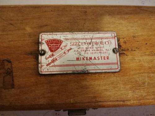 calibrador vintage
