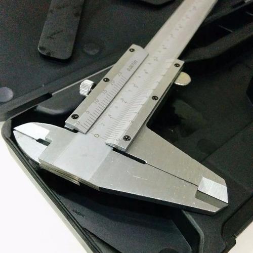 calibre acero 0 - 300mm isard caja plastica
