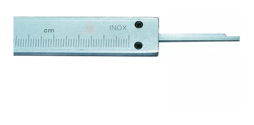 calibre acero inox 200 mm 0.02 med profund 8 pulgadas caja
