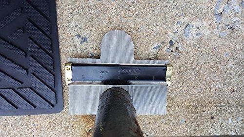 calibre de contorno metálico 837 general tools
