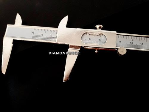 calibre de metal 0 a 15mm muy buena calidad de 6 pulg