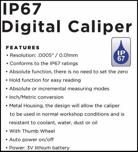 calibre digital asimeto 300 mm protección c/fluidos 305-12-2