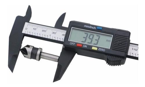 calibre digital fibra de carbono visor numeros grandes boedo