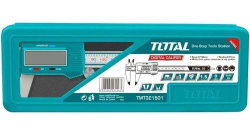calibre digital inoxidable total 0-150mm, pulgadas + estuche