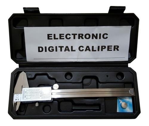 calibre digital profesional isard 0-150mm caja plastica