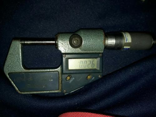calibre micrómetro digital mitutoyo 25mm .001 japón