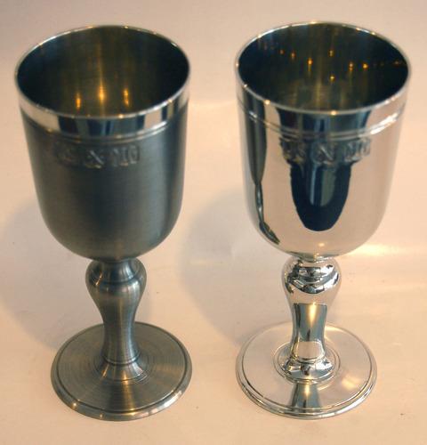 cálice de vinho - taça - estanho john somers - 140ml