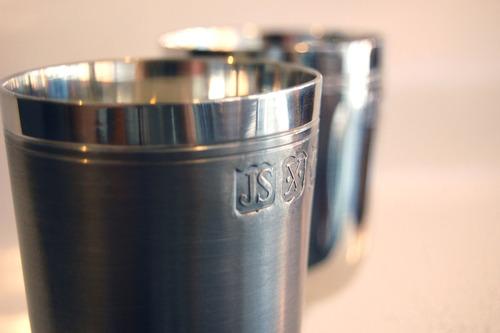 cálice para licor - taça - estanho john somers 30ml