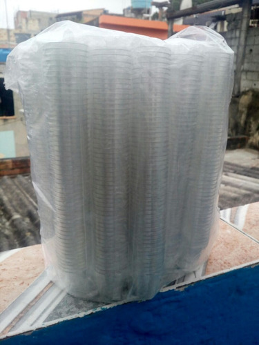 calice para santa ceia copinho acrilico transparente 100unid