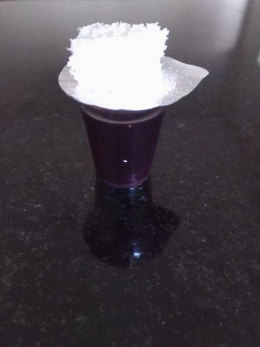 cálice para santa ceia lacrado com suco de uva só suco! c/48