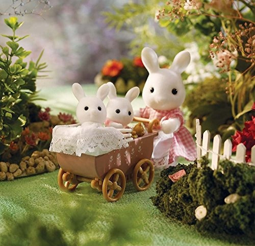 calico critters connor  kerris carriage ride