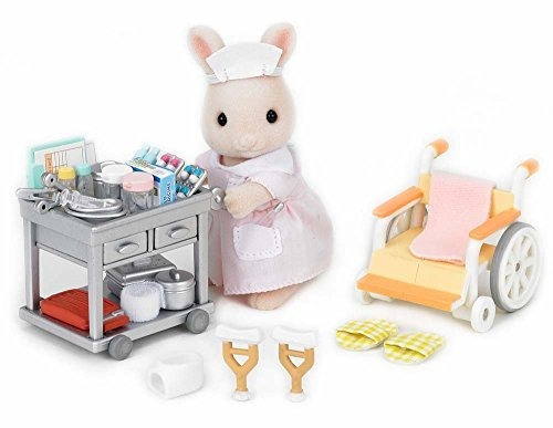 calicó critters country nurse set playset