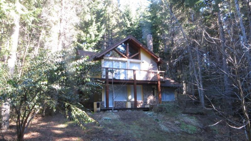 calida casa en el bosque!