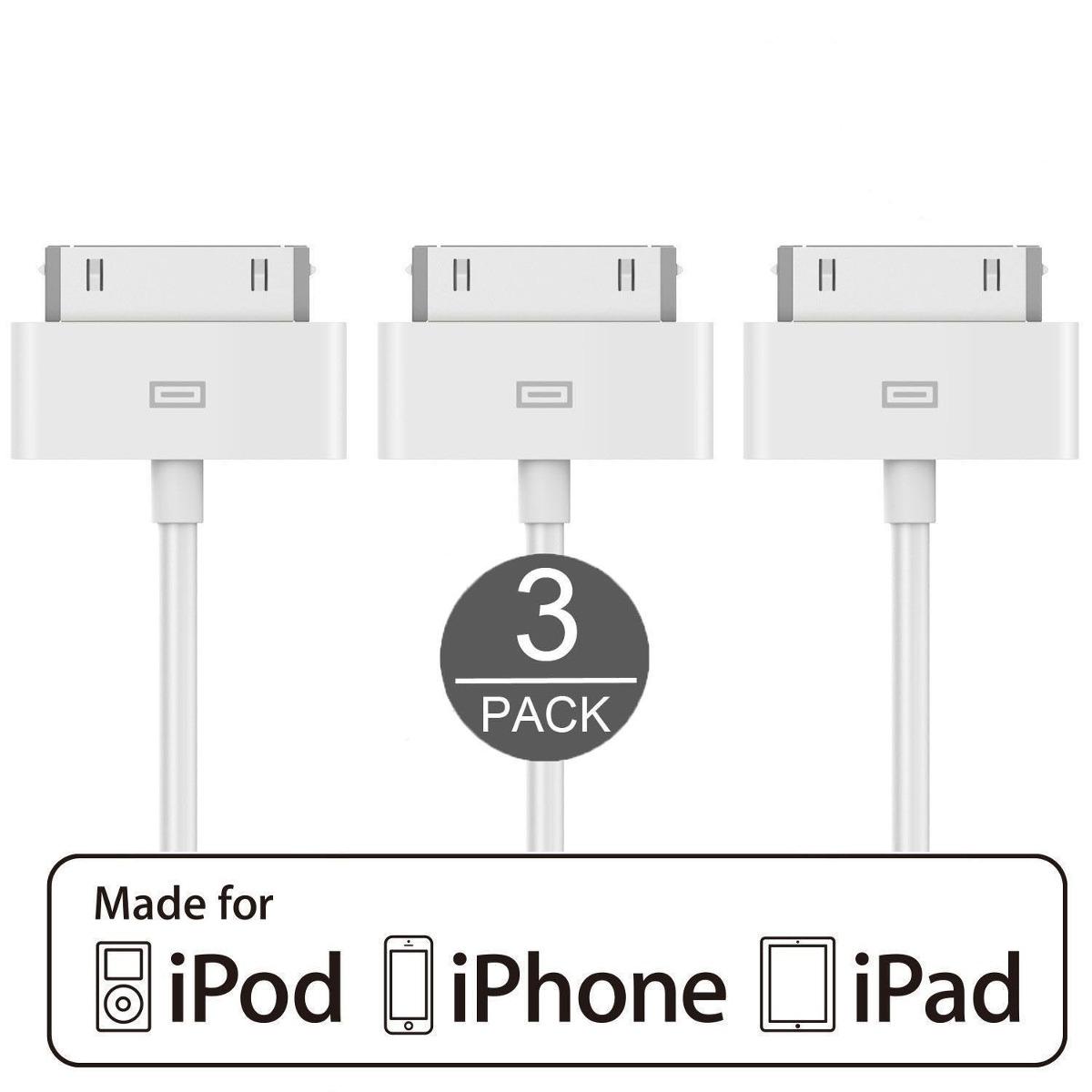 2fe14b054b6 calidad original iphone 4, 4s ipod ipad 1 2 3 carga y cable. Cargando zoom.