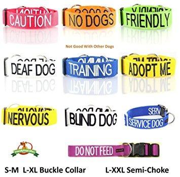 calidad sordos perro blanco pañuelo para perros mensaje bor