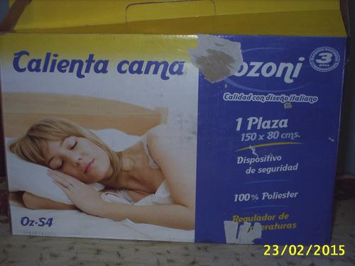 calienta camas ozoni,  1 plaza, nuevo y sin uso
