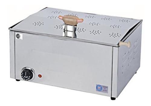 calienta pan panchos mantenedor eléctrico acero anion 707