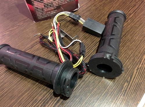 calienta puños calefaccionados moto temp. graduable en pem