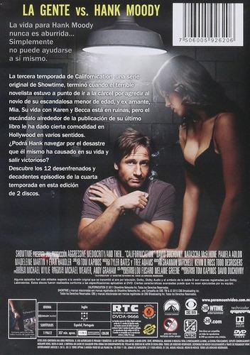 californication cuarta temporada 4 cuatro dvd