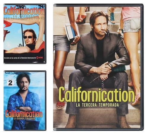 californication paquete temporadas  1 2 3 4 5 6 7 dvd