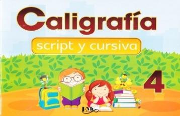 Caligrafía Cursiva Y Script Para Cuarto De Primaria - $ 140.00 en ...