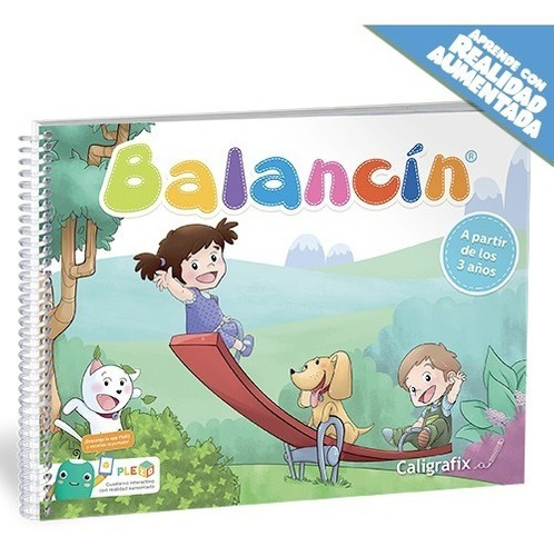 caligrafix balancín 3 años (play group) cx